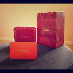 Cartier pink gold 18k love bracelet. (Size 17)